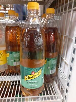 SCHWEPPES Ginger Ale 1x1L