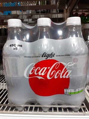 Coca Cola Light 6x45 cl