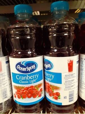 Ocean Spray Cran Berry Light 1x1L