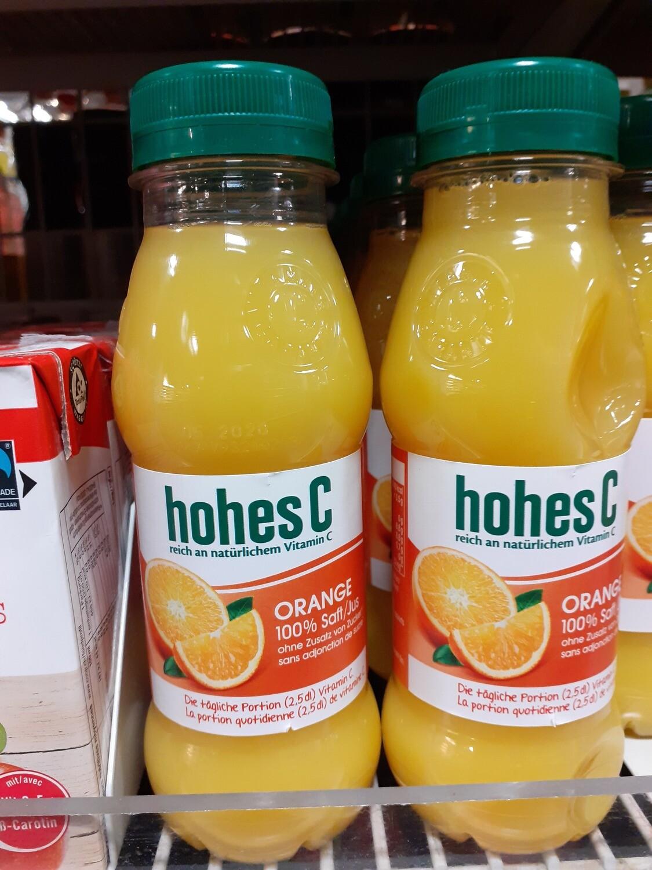 Hohes C Jus D`orange 1x25 cl Pet