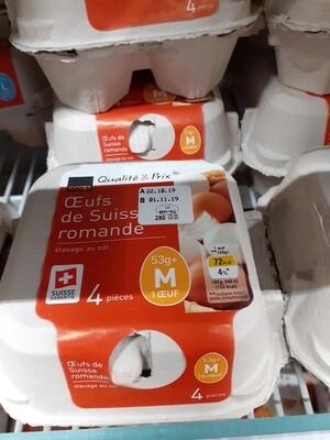 Oeufs de Suisse Romande 1x53 g