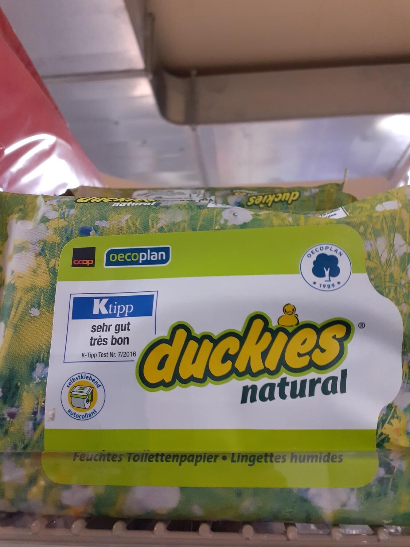 Duckies Natural OECOPLAN 1x36ST