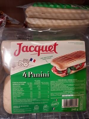 Jacquet Panini 4pce 1x240g