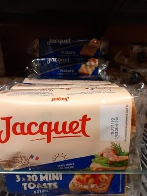 Jacquet Mini Canapés Nature 1x255g