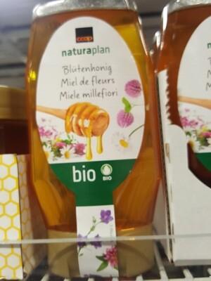 BIO Miel de fleurs 350g