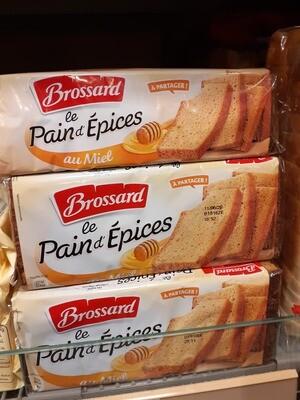 Brossard Pain d`épices au miel 1x350g