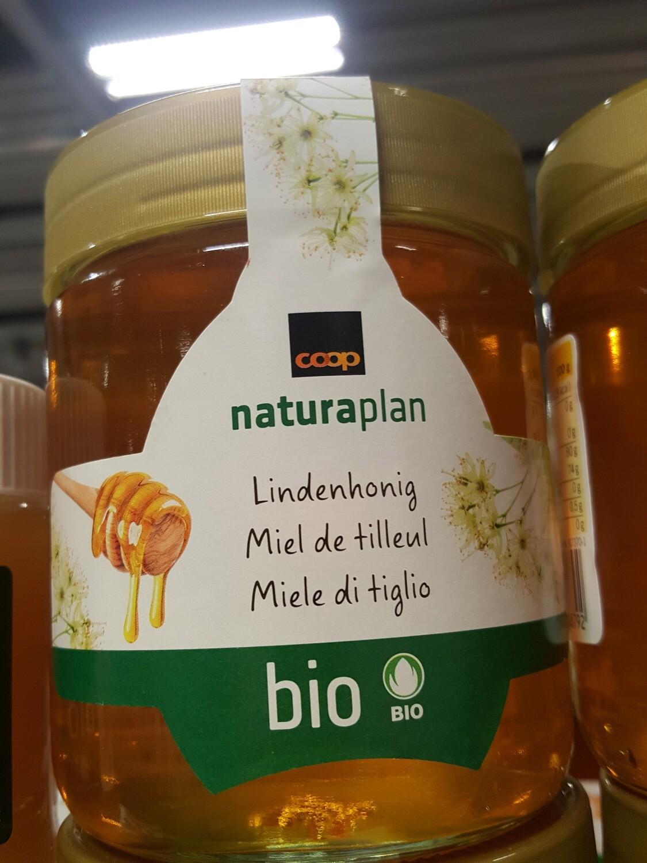 Bio Miel de tilleul NATURAPLAN 500g