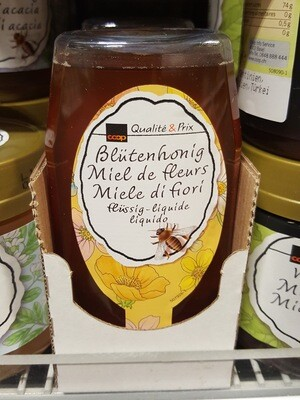 Miel de fleurs Liquide Squeezer 1x350g