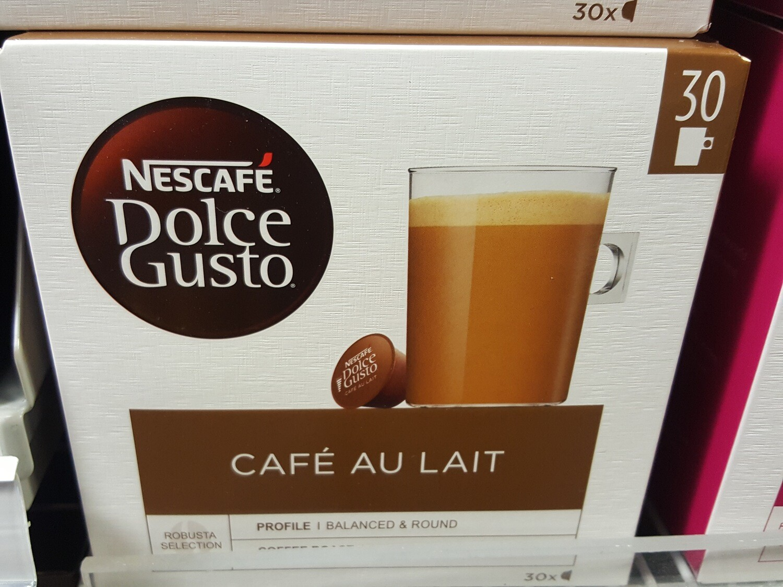 Nescafé Dolce Gusto Café au lait 30 Cap