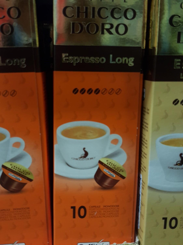 Chocco Caffitaly Espresso Long 10 Cap