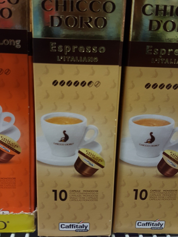 Chocco D`oro NCC Espresso lt. Cap. 10