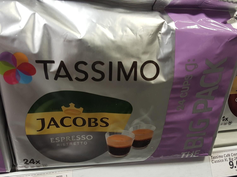 Tassimo Espresso classico Big Pck 1x24