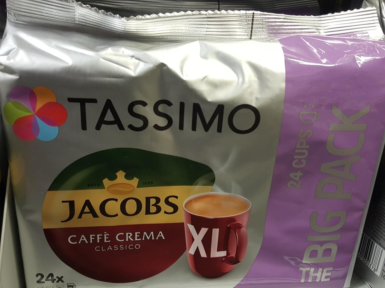 Tassimo Café Crèma Classico XL Big 1x24