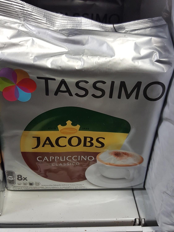 Tassimo Jacobs Cappuccino 8 Po.
