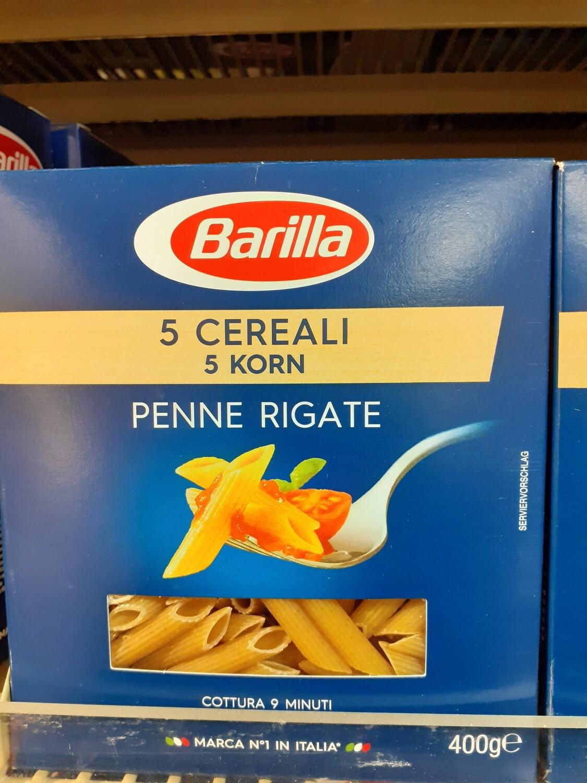 BARILLA Penne 5 Cereali 1x400g