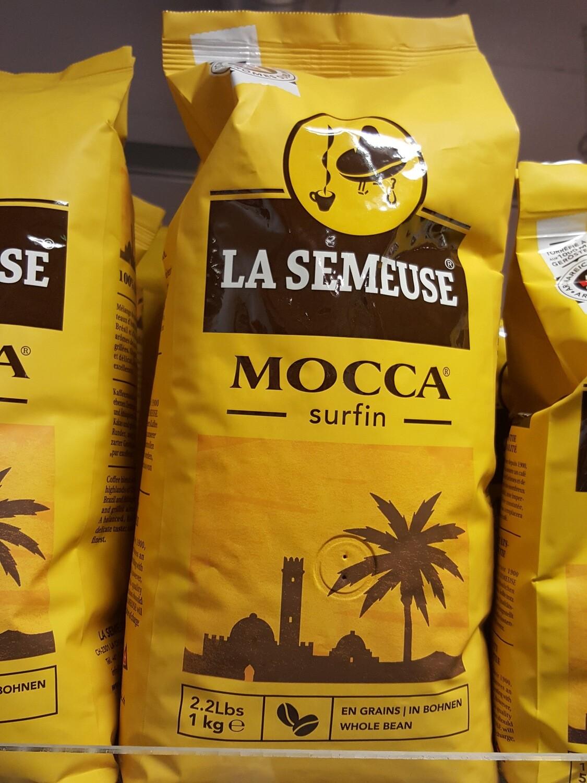 La semeuse Mocca Café en grains 1Kg