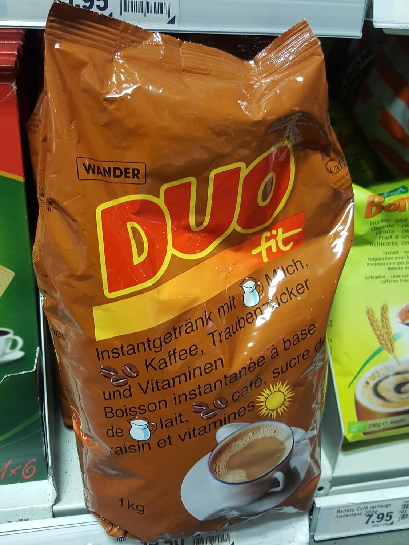 DUO Fit Café Sucre Raisin et Vitamines 1x1Kg