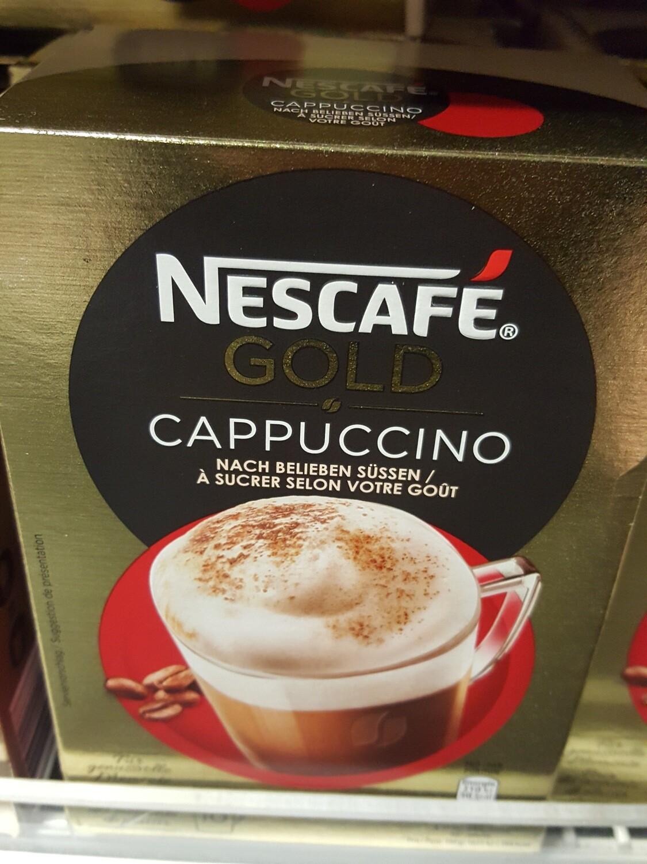 Nescafé Gold Cappuccino 10 Po.