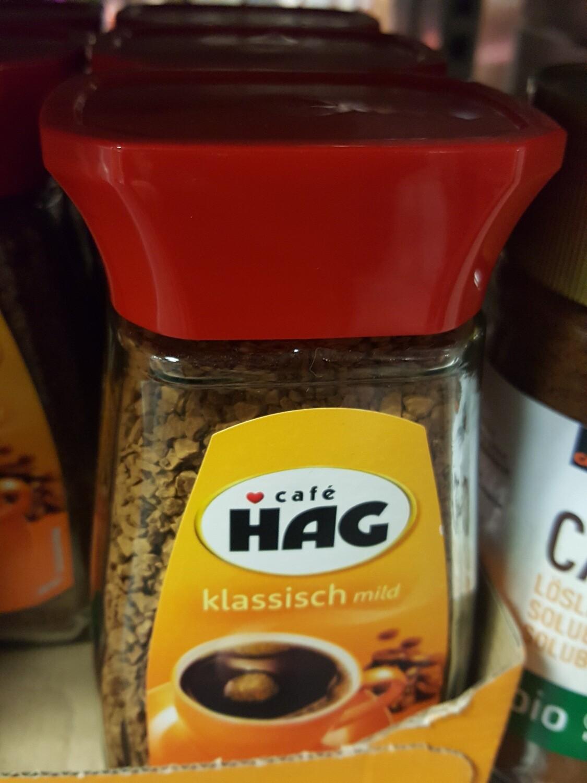 Café Hag Verre Sans Caféine 1x100g