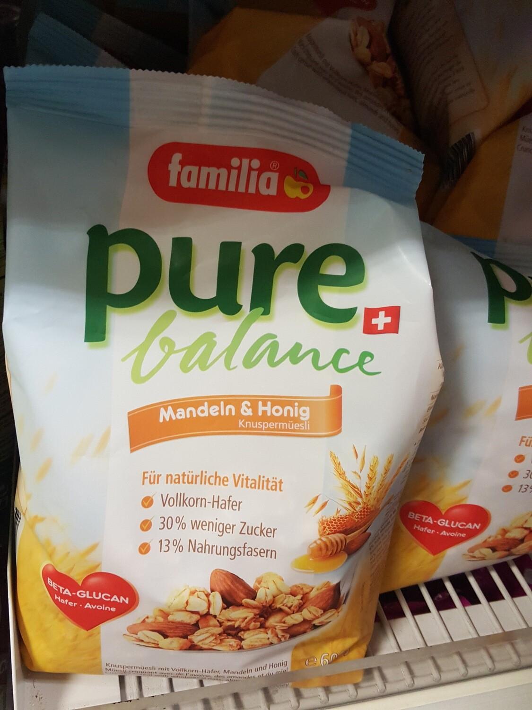 Familia Pure Balance Almandes&Miel 1x600g
