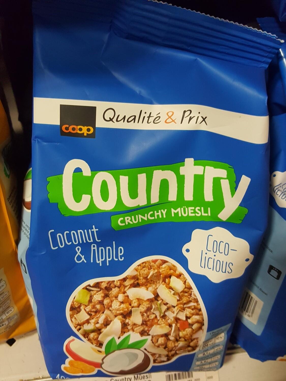 Coop Counry Müesli Coco-Pommes 1x400g