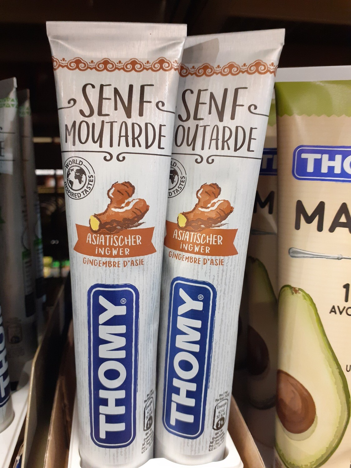 Thomy Moutarde aux ginger 1x100g