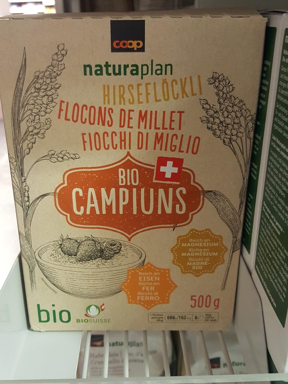Naturaplan Bio CH Flocons de Millets 1x500g