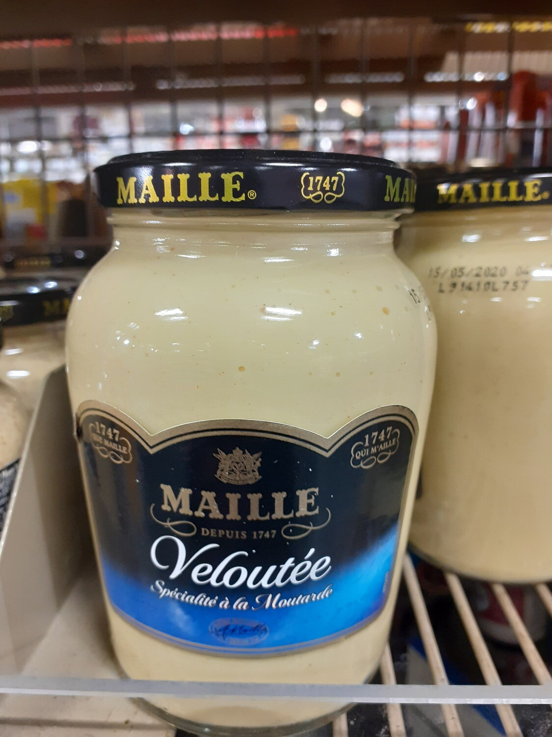 Maille Moutarde veloute 1x360g