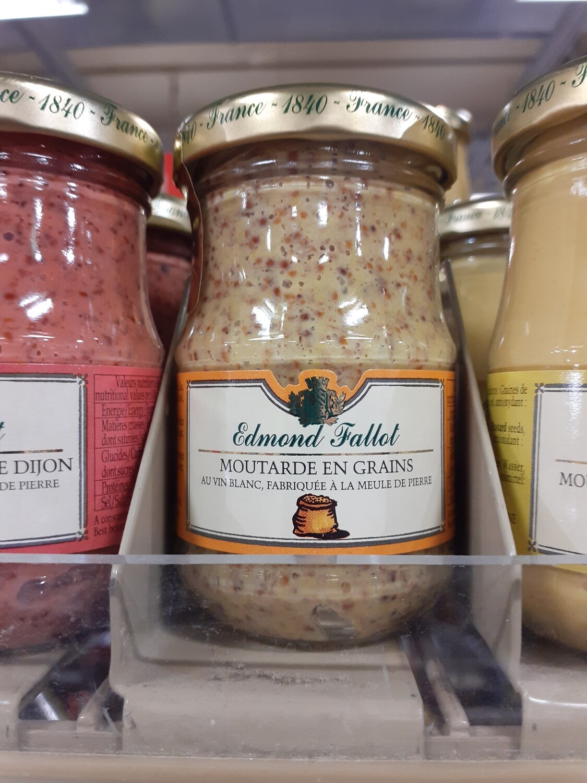 Fallot Moutard Dijon grains gros 1x105g