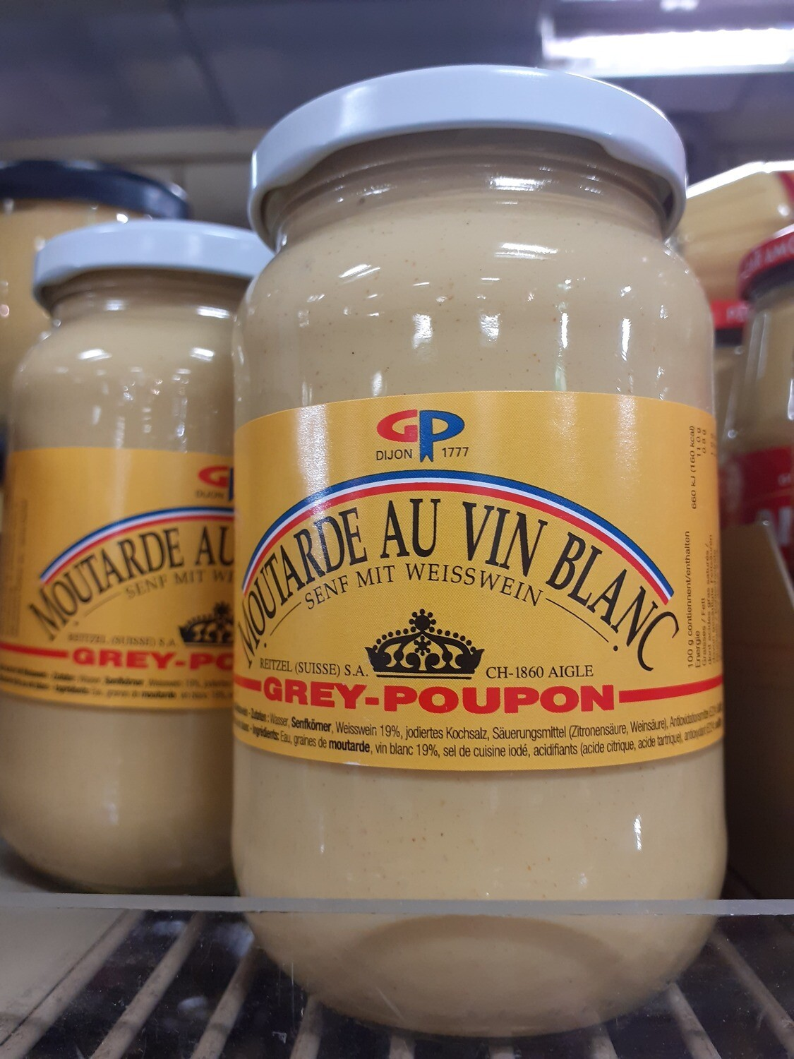 Grey-Poupon Moutarde forte 1x370g