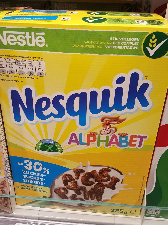 Nestlé Nesquik ABC Céréal 1x325g