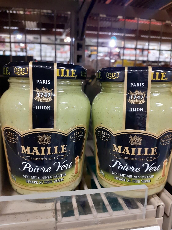 Maille Moutarde poivre vert 1x215g