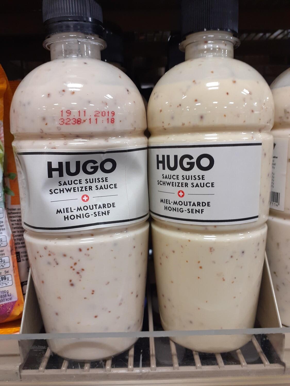 HUGO Sauce a la salade CH-miel mouta. 1x450ml