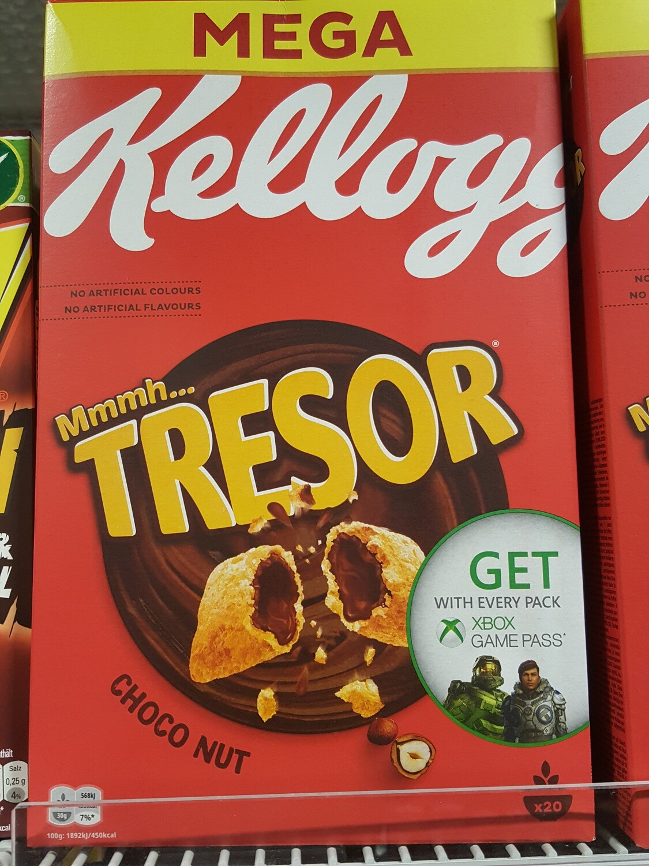 Kellogg`s Tresor Choco Nuit 1x600g
