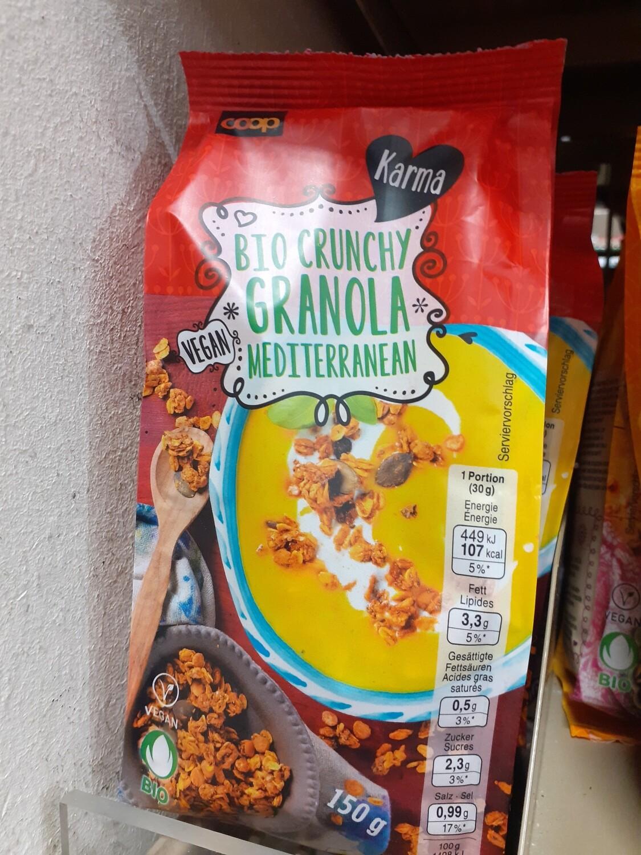 Karma Bio Granola Mediterranea 1x150g