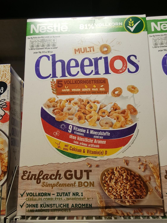 Nestlé Cheerios Multigrain 1x375g