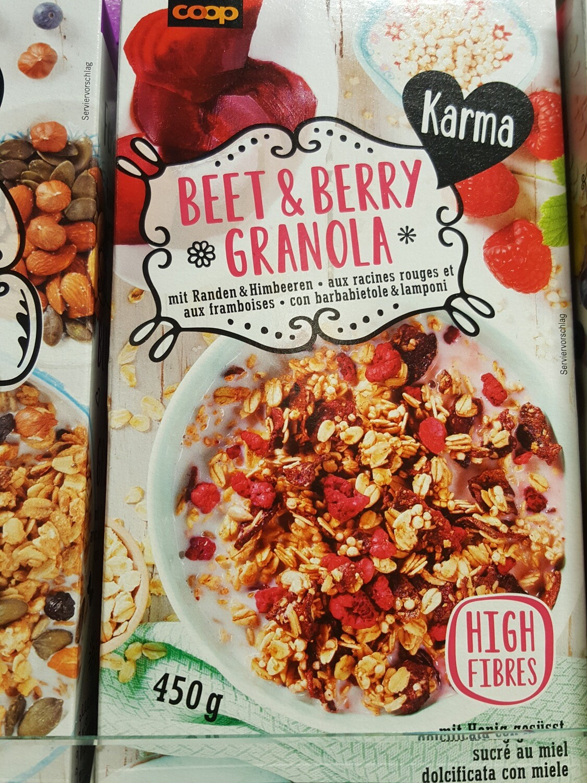 Karma Beet & Berry Granola 1x450g