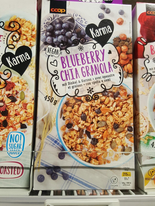 Karma Blueberry Chia Granola 1x450g