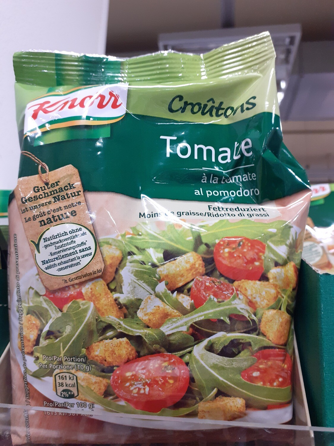Knorr Croutons tomate/basilic 1x120g