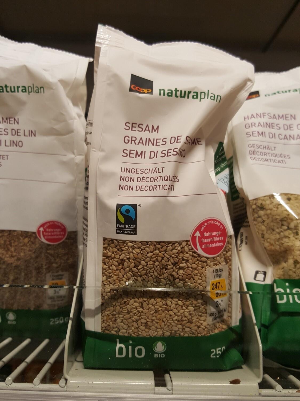 Naturaplan Bio Havelaar Sesam 1x250g