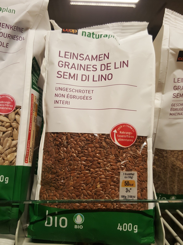 Naturaplan Bio Graines de Lin 1x400g
