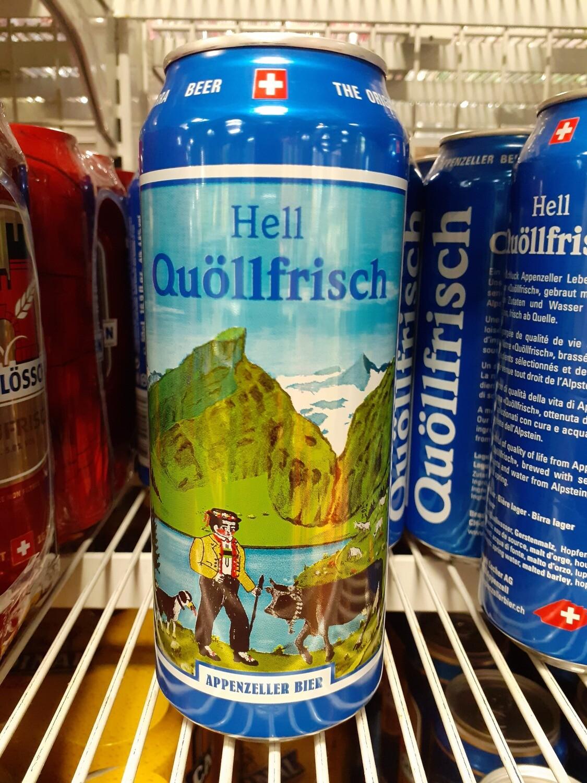 Appenzeller Bière Quöllfrisch CA 1x50cl