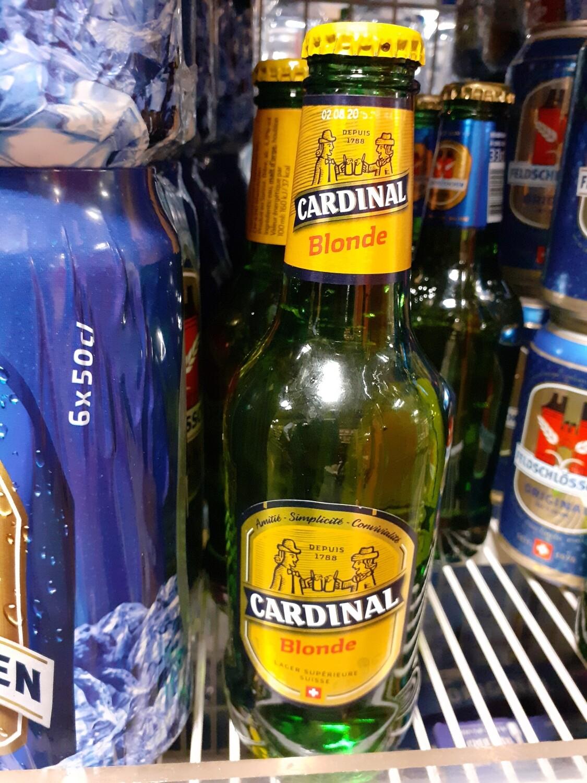 Cardinal Bière Blonde 1x33cl