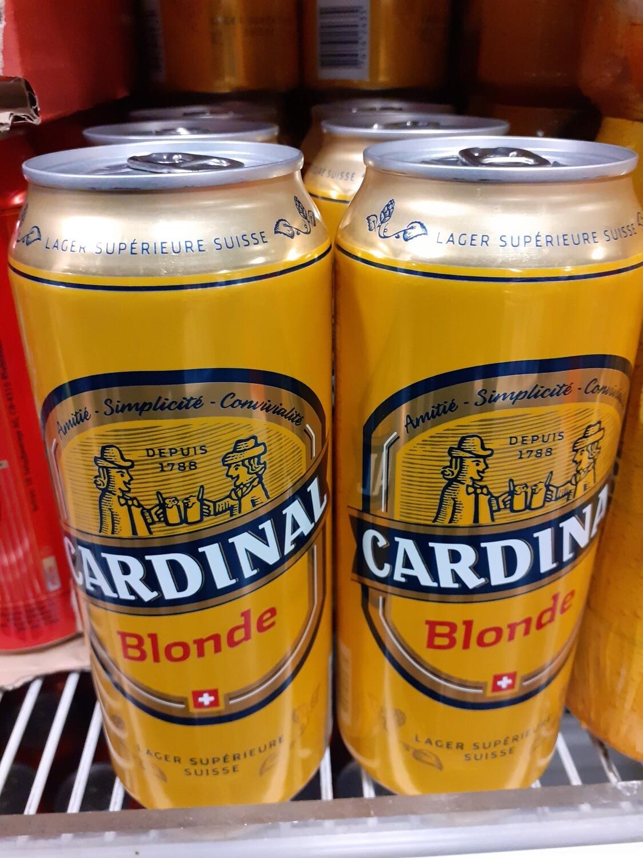 Cardinal Bière Blonde Boite 1x50cl