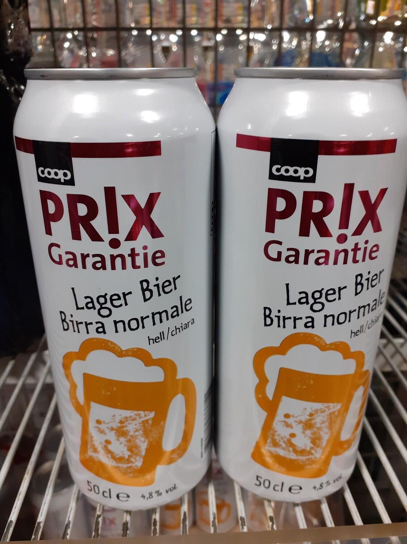 Prix Garantie Bière Normale 1x50cl