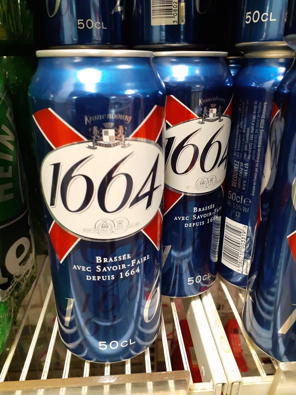 1664 Bière Canette 1x50cl