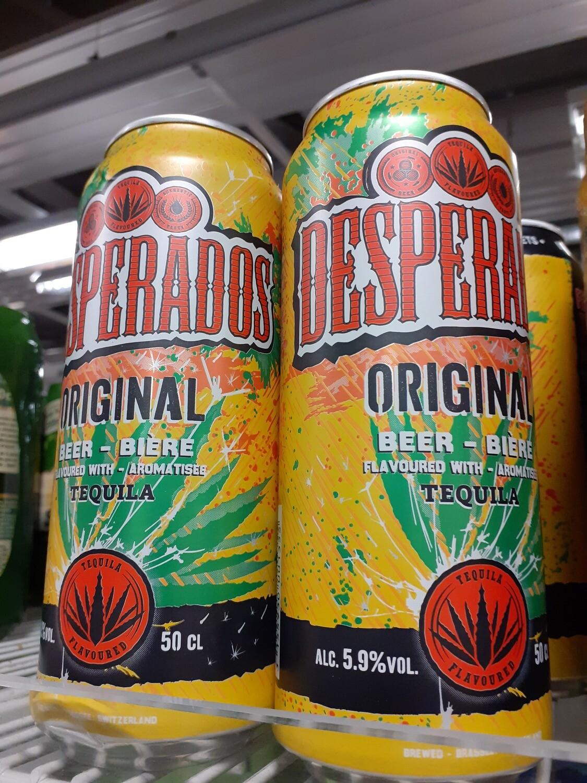 Desperados Tequila Bière Canette 1x50cl