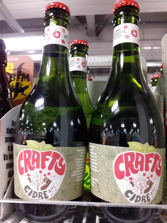 Crafty Cidre Artisanal 1x33cl