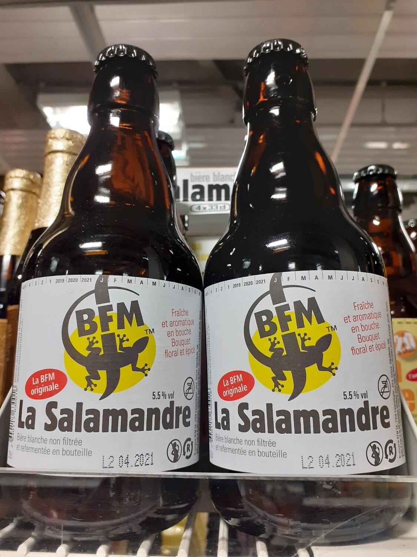 BFM La Salamandre Bière Blanche 1x33cl