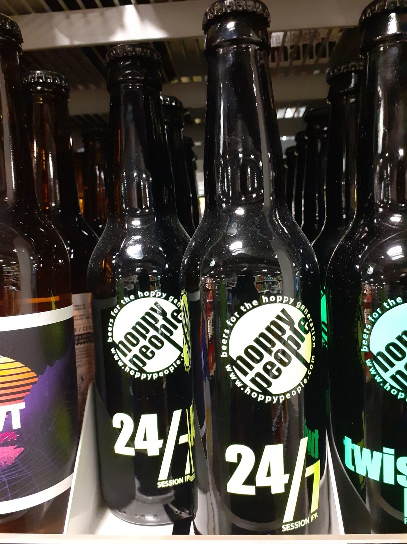 Hoppy People 24/7 S`ession Ipa Bière 1x33cl